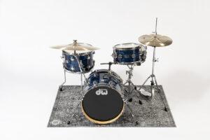 Grey drumkit